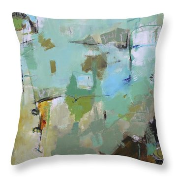 Afflable Throw Pillow by Elizabeth Chapman