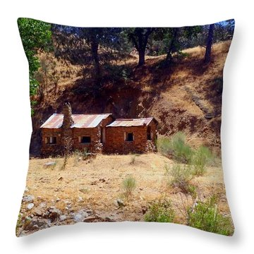Affordable Housing Kern County California Throw Pillow