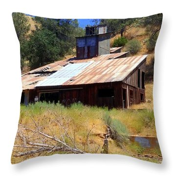 Affordable Housing Kern County Throw Pillow