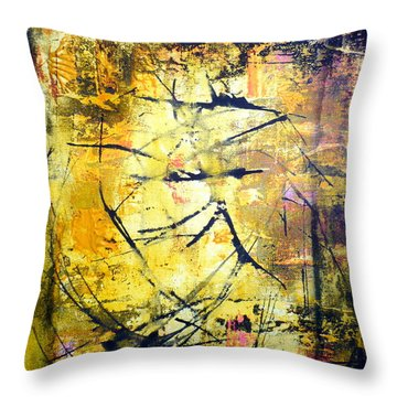 Aforethought Abstract Throw Pillow
