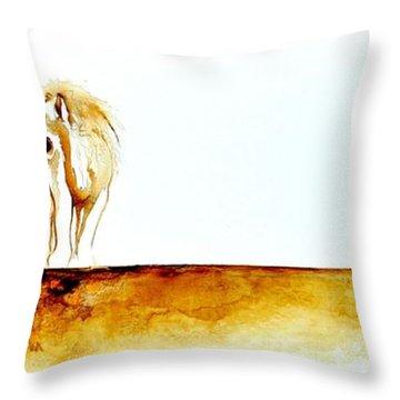 African Marriage - Original Artwork Throw Pillow