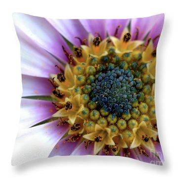 African Splendour Throw Pillow