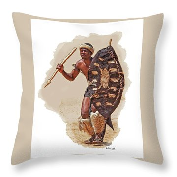African Tribal Traditions 1 Throw Pillow