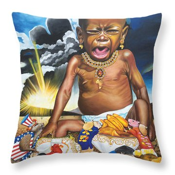 African't Throw Pillow