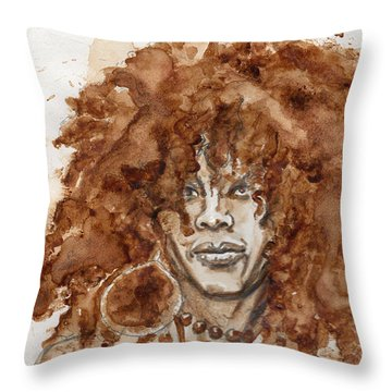 Afrocentric Throw Pillow