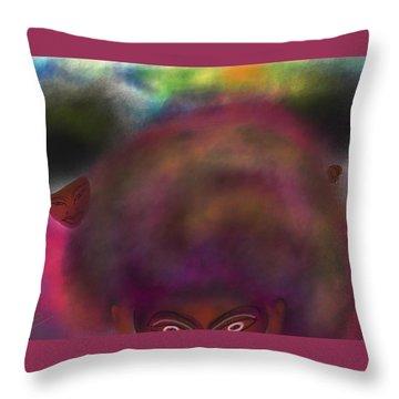 Afrod 1 Throw Pillow