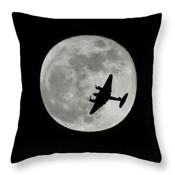 After A Long Night Throw Pillow by Mark Alan Perry