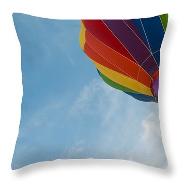 After Liftoff Throw Pillow