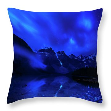 After Midnight Throw Pillow by John Poon