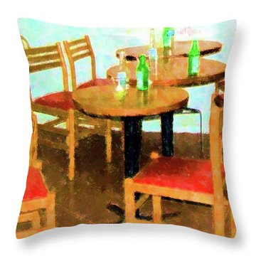After Party Throw Pillow by Debbi Granruth