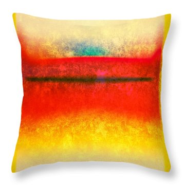 After Rothko 8 Throw Pillow