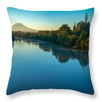 After Sunrise Throw Pillow
