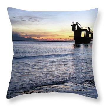 After Sunset Blackrock 1 Throw Pillow