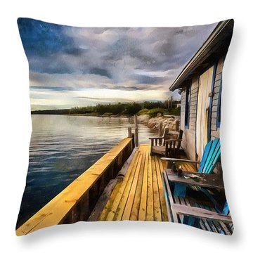 After Sunset Throw Pillow