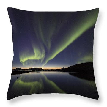 After Sunset I Throw Pillow
