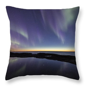 After Sunset Iv Throw Pillow