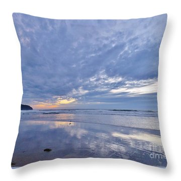 Moonlight After Sunset Throw Pillow by Michele Penner