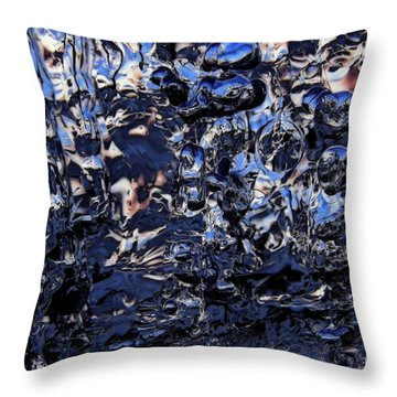 Throw Pillow featuring the photograph After Sunset by Sami Tiainen