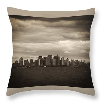 After The Attack Throw Pillow