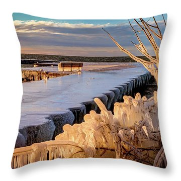 After The Blow Throw Pillow