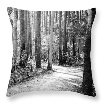 After The Burn  Throw Pillow by Phill Doherty