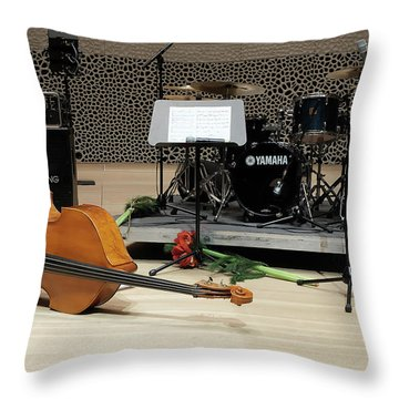 After The Concert Throw Pillow