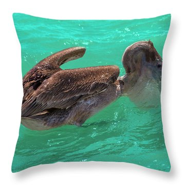After The Dive Southern Most House Key West Throw Pillow