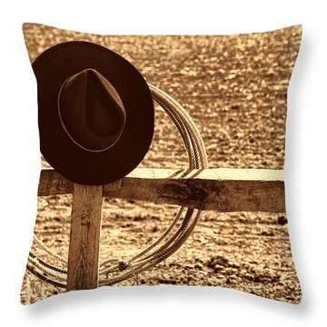 After The Drive Throw Pillow