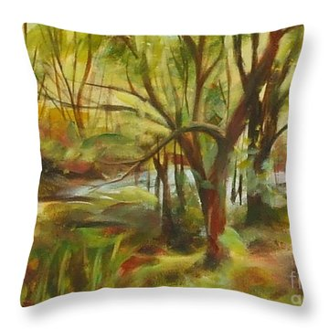 After The Flood Throw Pillow