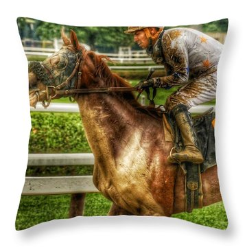 After The Mud Throw Pillow