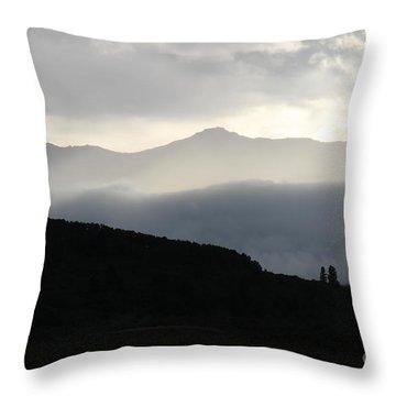 The Quiet Spirits Throw Pillow