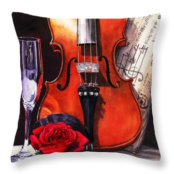 After The Serenade Throw Pillow