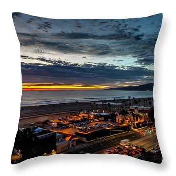 After The Storm And Rain  Throw Pillow