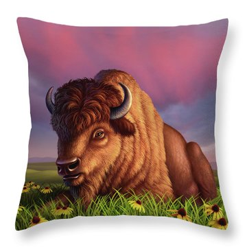 After The Storm Throw Pillow by Jerry LoFaro