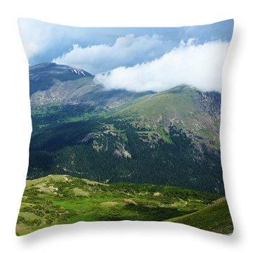 After The Storm Throw Pillow by Marie Leslie