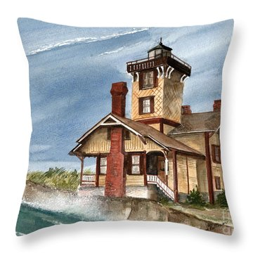 After The Storm Throw Pillow by Nancy Patterson