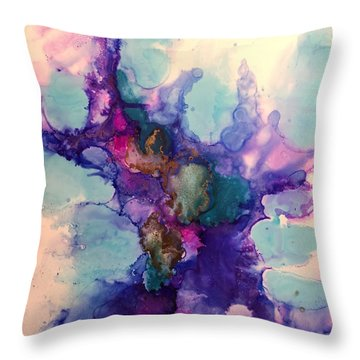 After The Storm Throw Pillow by Tara Moorman