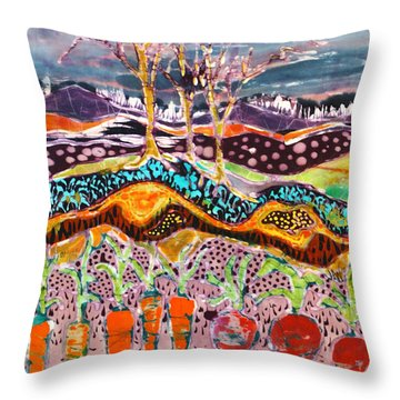 After The Thunderstorm Throw Pillow