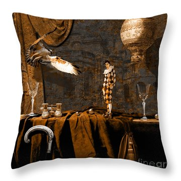 After Theater Throw Pillow