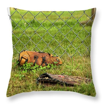 Throw Pillow featuring the photograph After Video Games by Jose Rojas