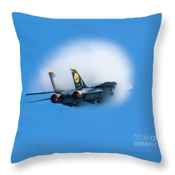 Afterburners Ablaze Throw Pillow