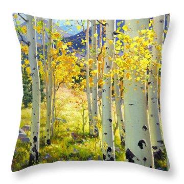 Peak Throw Pillows