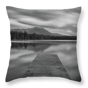 Afternoon At Daciey Pond Throw Pillow