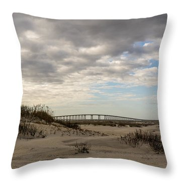 Afternoon At The Refuge Throw Pillow