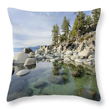 Throw Pillow featuring the photograph Afternoon Dream by Sean Sarsfield