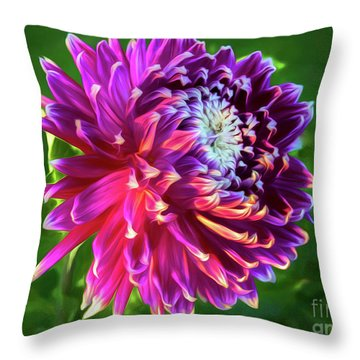 Afternoon Glory Throw Pillow