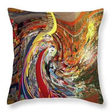 Afternoon Hallucination Throw Pillow