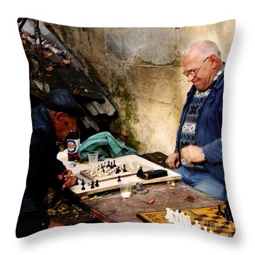 Afternoon Match Throw Pillow