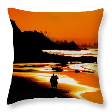 Two People Throw Pillows