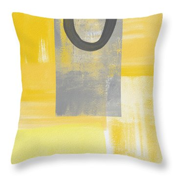 Afternoon Sun And Shade Throw Pillow